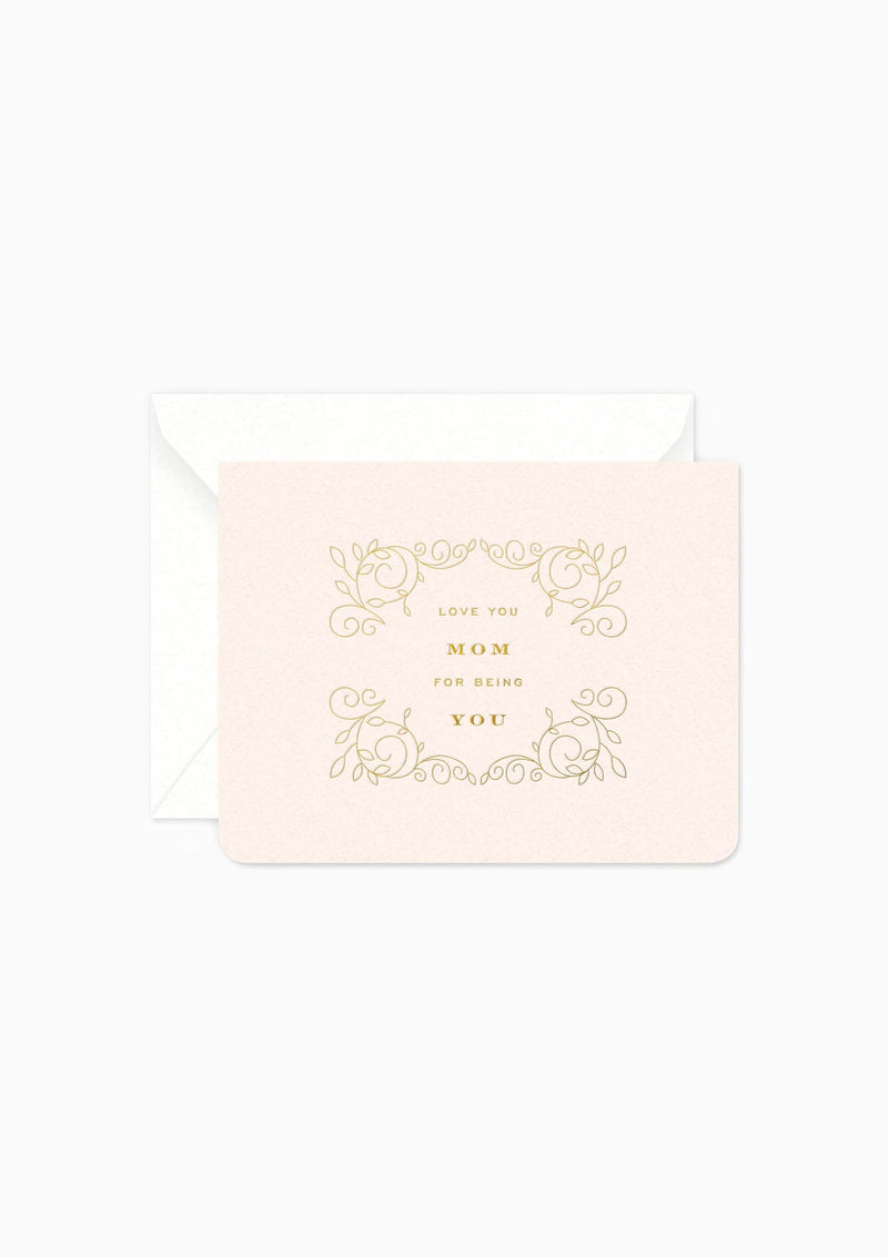 Love You Mom Greeting Card