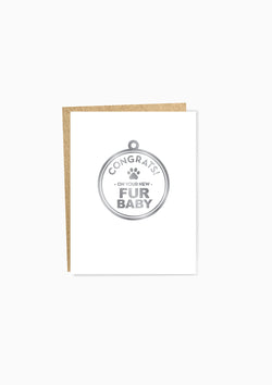 Fur Baby Greeting Card