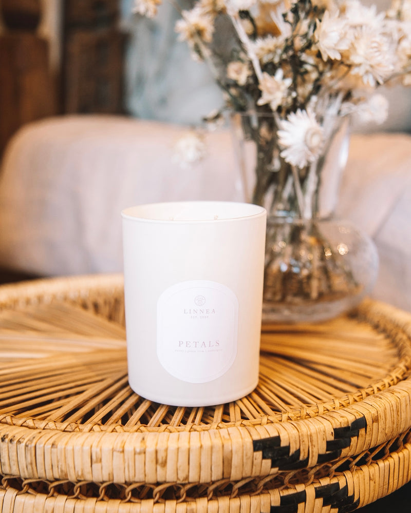 Petals Double Wick Candle