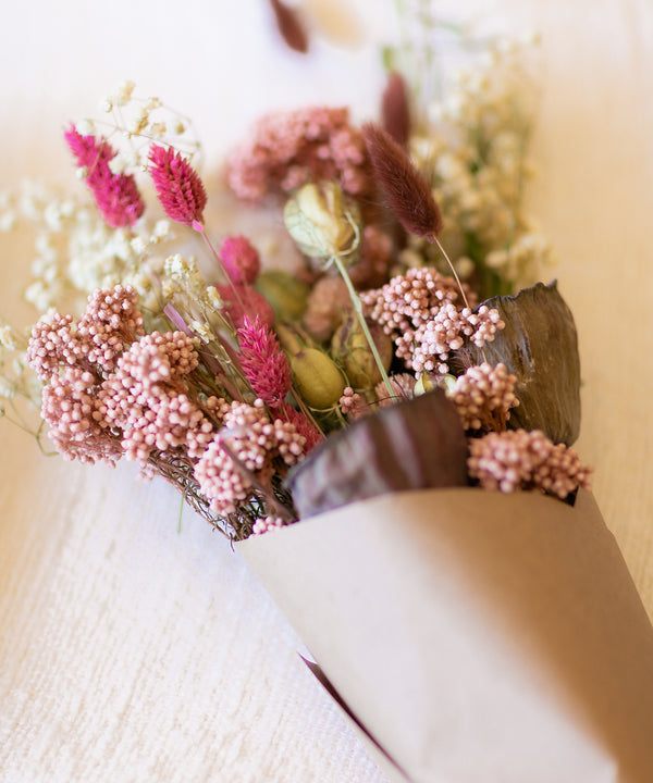 Preserved Rice Flower | Pink