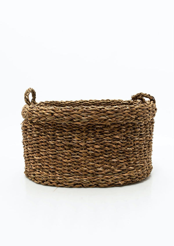 Oval Seagrass Basket | Large