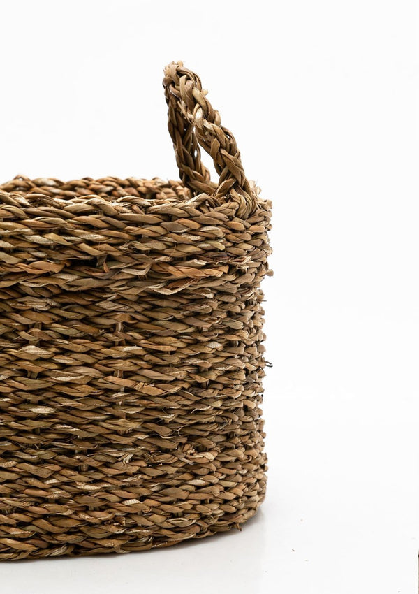 Oval Seagrass Basket | Small