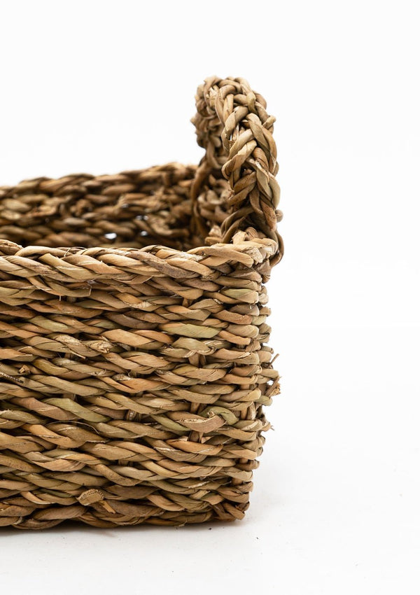 Rectangle Seagrass Basket | Medium