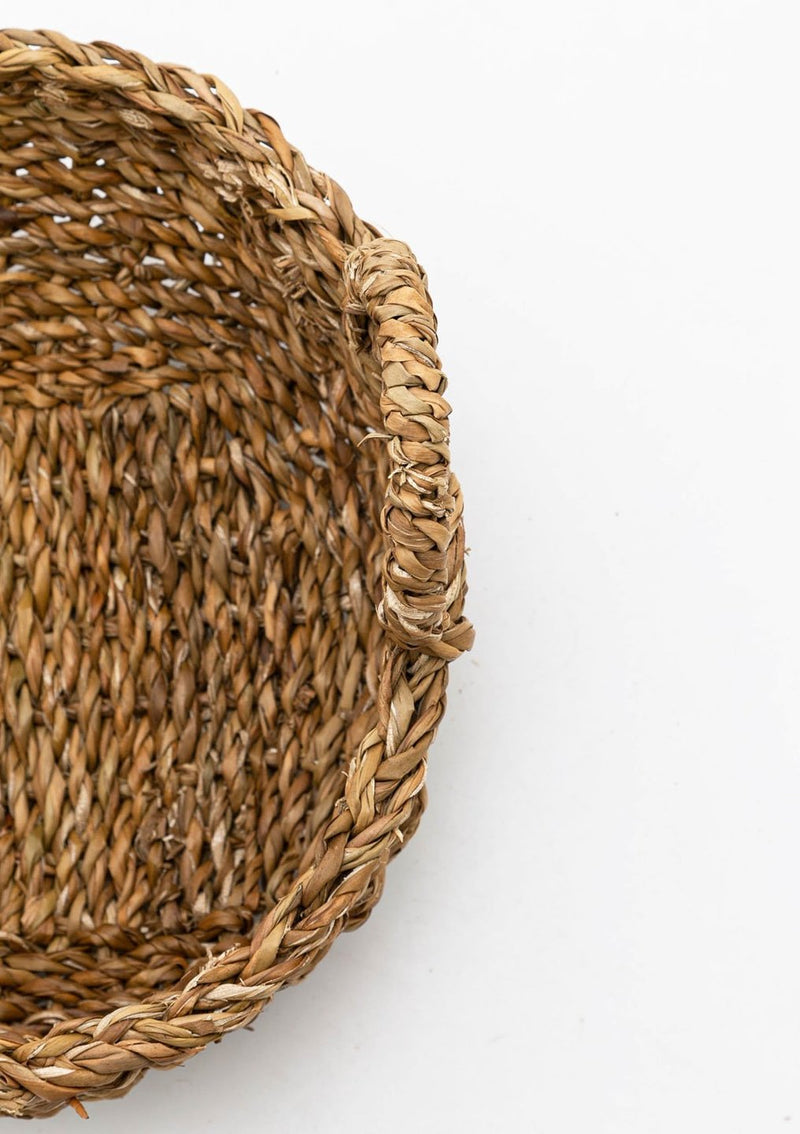 Round Seagrass Basket | Medium