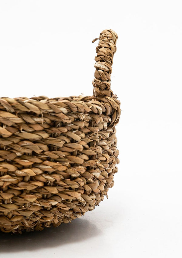 Round Seagrass Basket | Small
