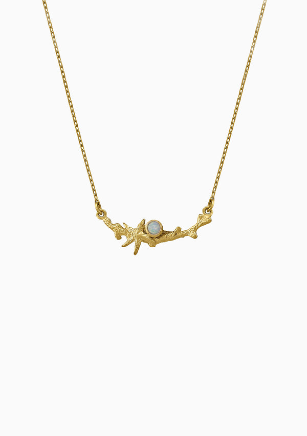 In-Line Reef Necklace Opal