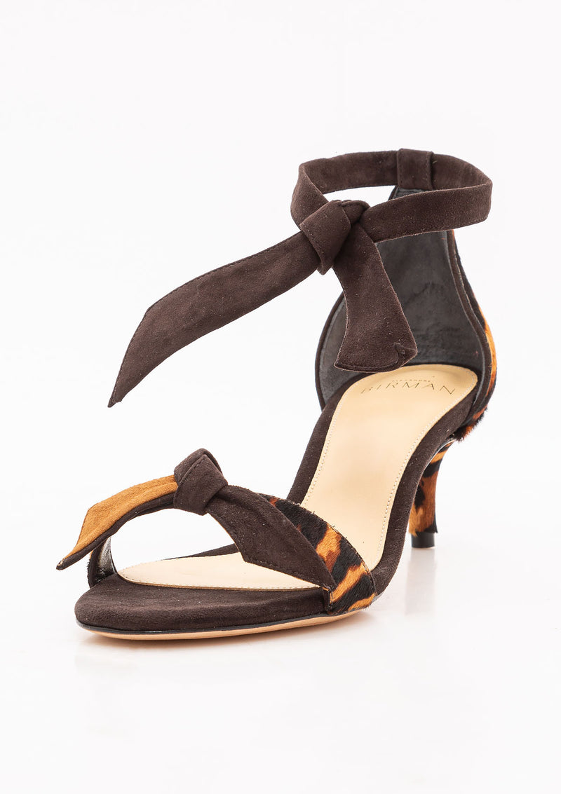 Clarita Pony Heel | Walnut