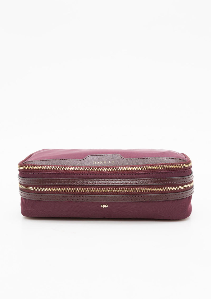 Make Up Case | Claret