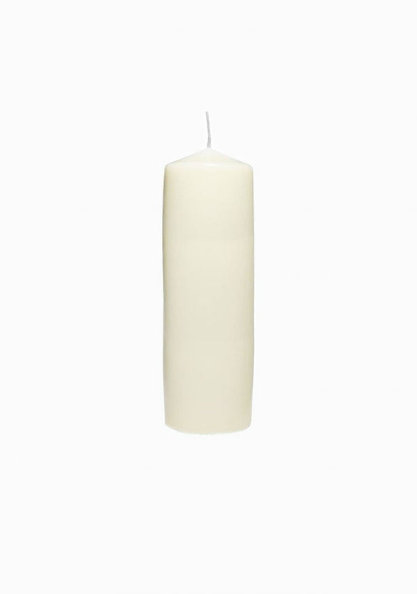 Beeswax Tall Candle, Ivory