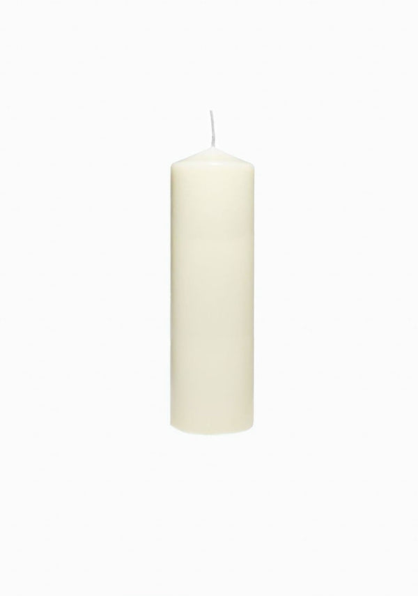 Beeswax Church Candle | Ivory