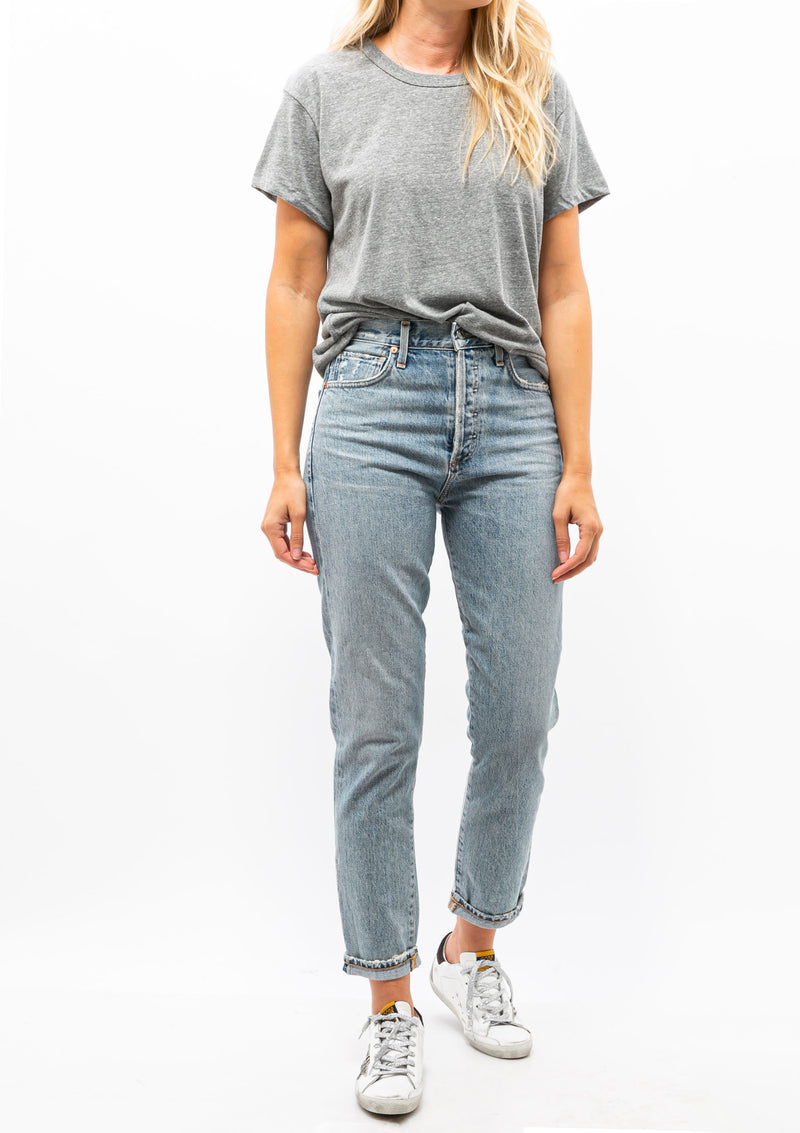 Betty Relaxed T-Shirt | Heather Grey