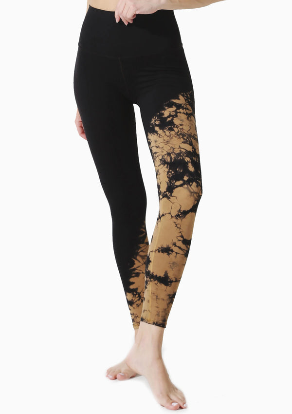 Venice Legging | Onyx/Honey