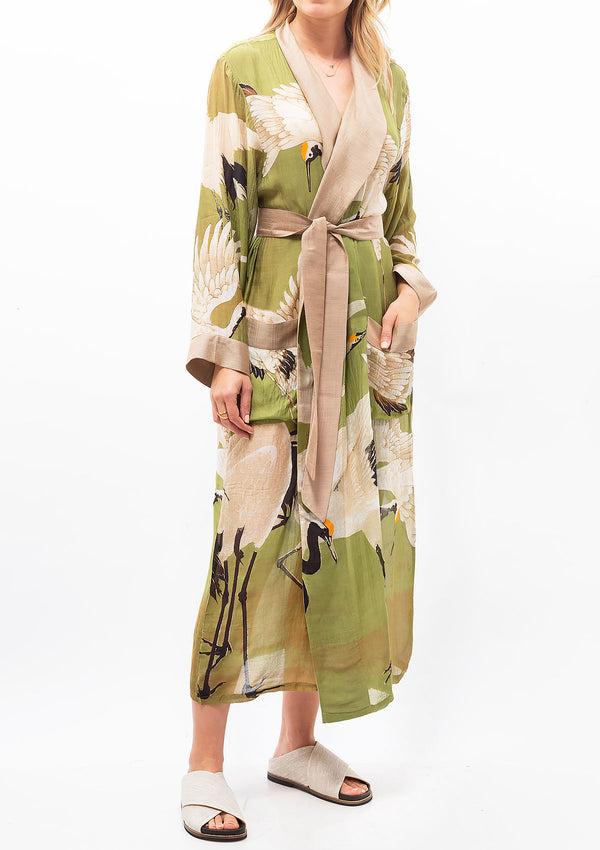 Heron Robe Gown