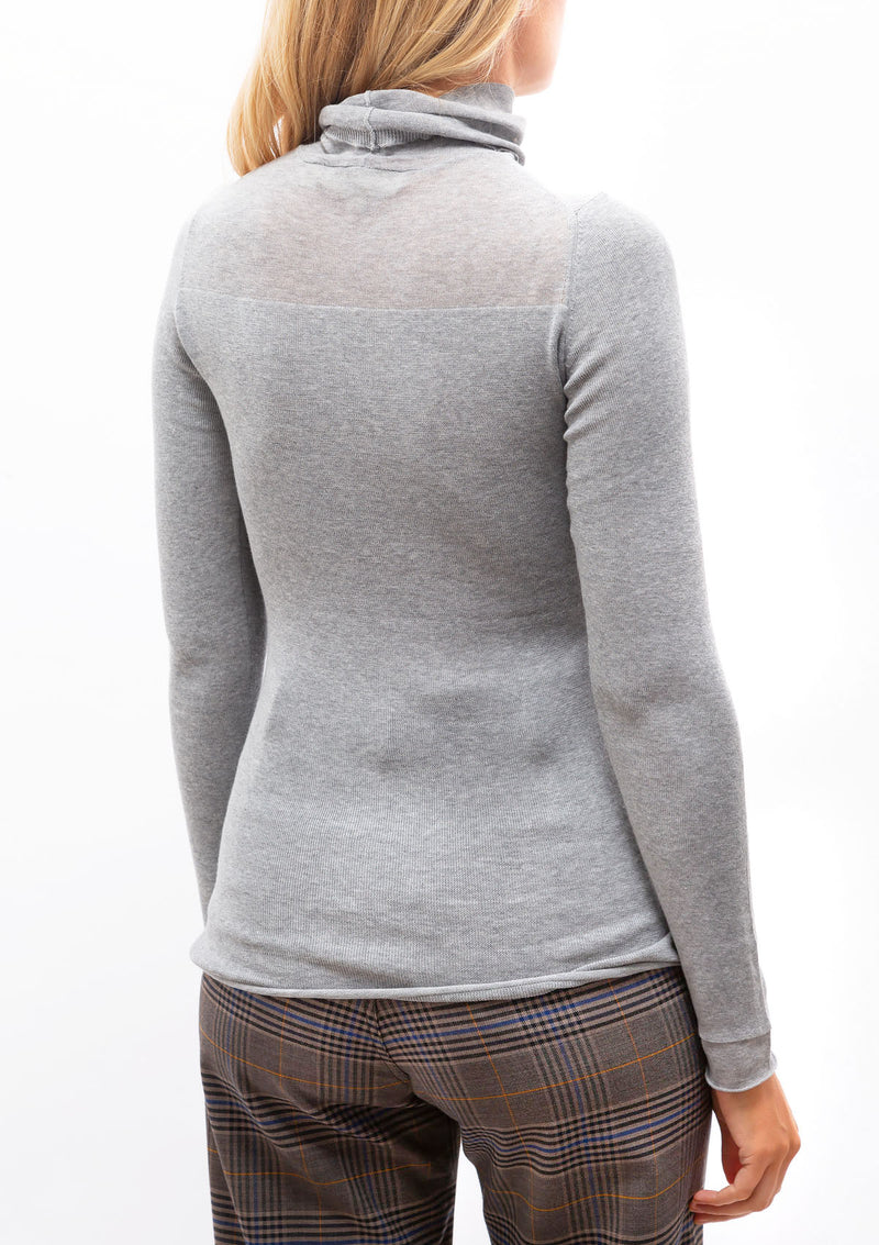 Illusion Turtleneck Long Sleeve