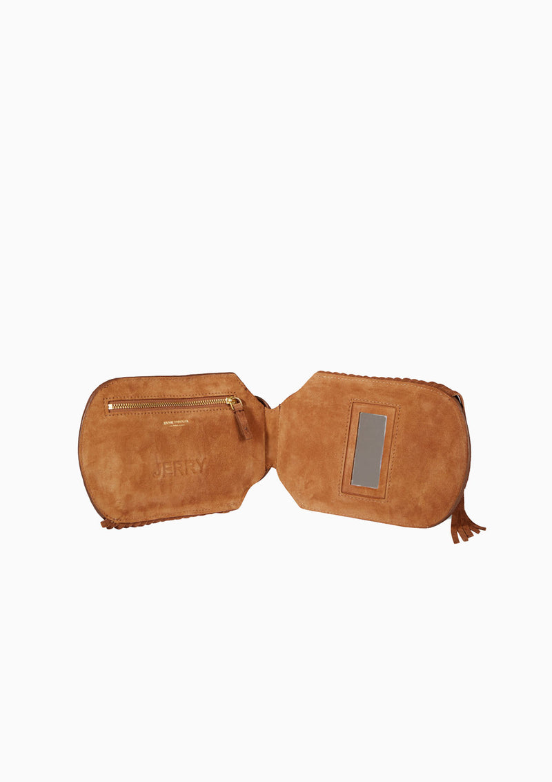 Jerry | Split Suede Tabac