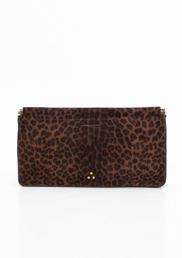 Clic Clac XL | Leopard Naturel Split Suede