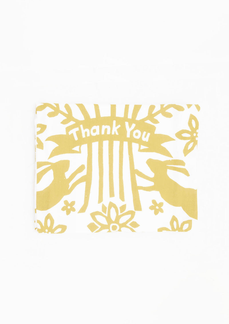 Flour Sack Dish Towel | Thank You