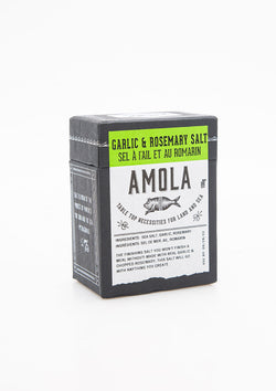 Amola Salts, Garlic + Rosemary