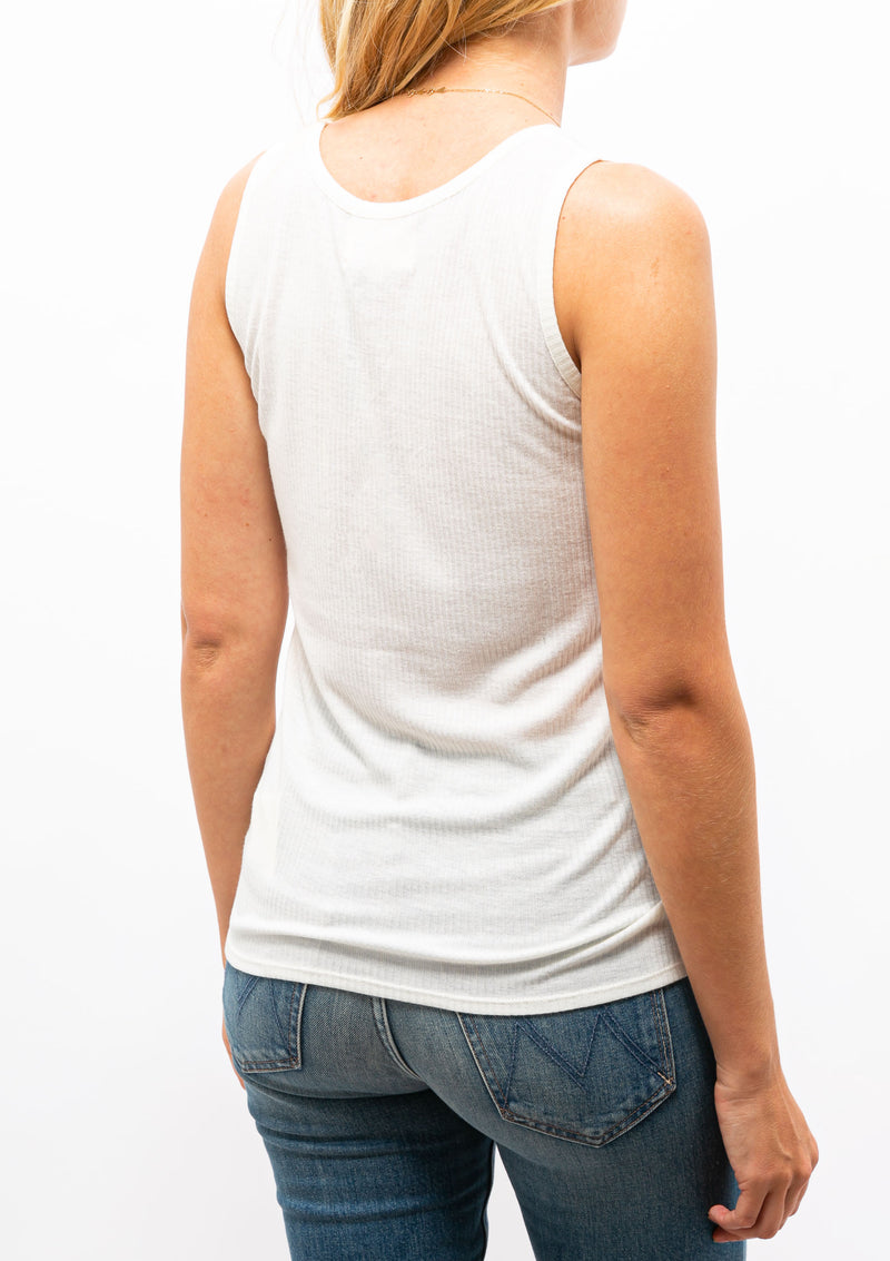 Alicudi Tank Top | Ivory