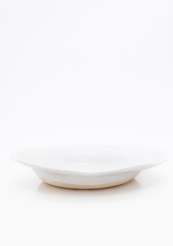 Piatra Serving Bowl | White