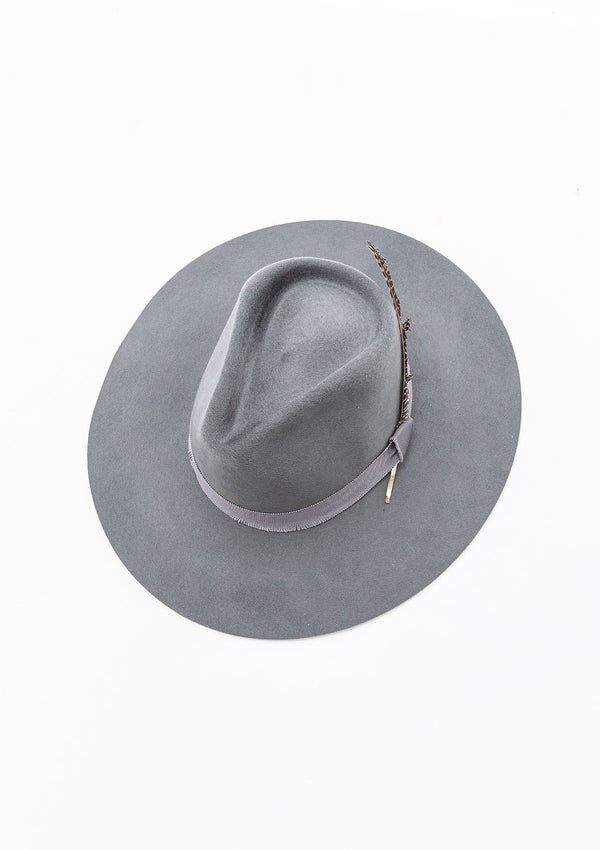 Verona Polished Felt Fedora