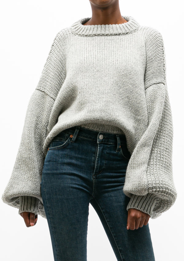 Jackie Jumper | Light Grey
