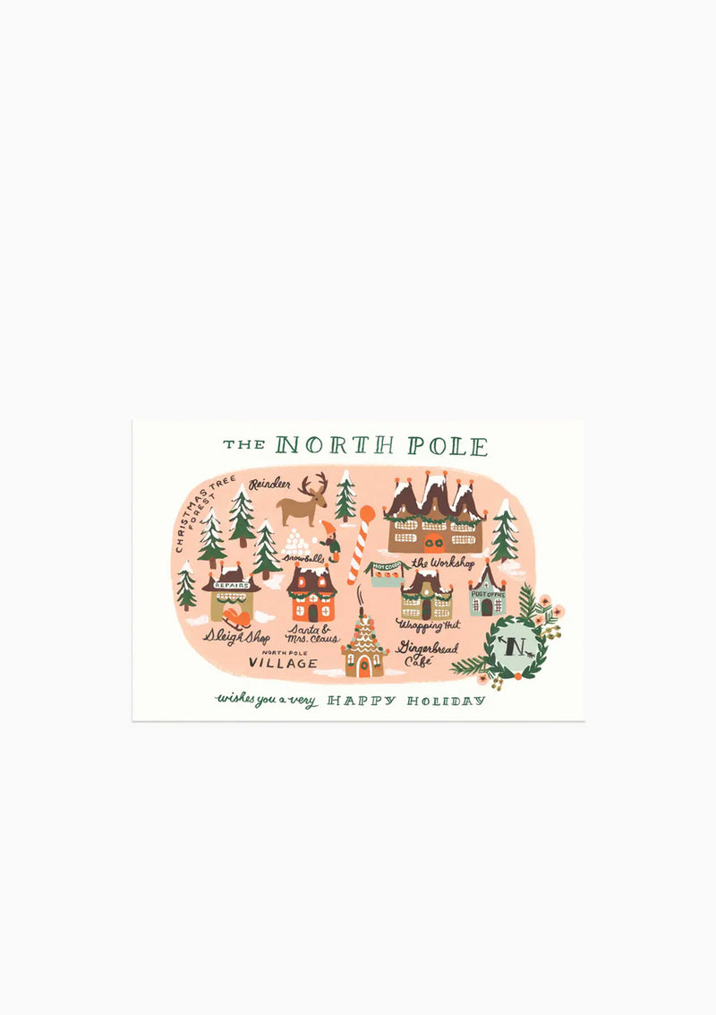 North Pole Postcard