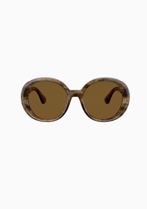 Leidy Sunglasses | Sepia Smoke