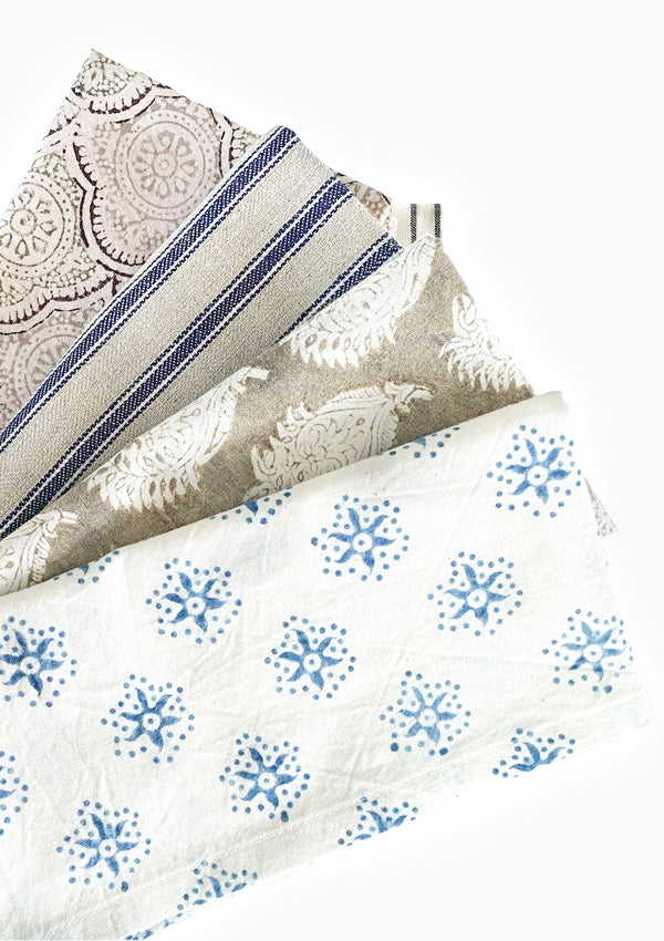 Organic Natural Dye Cotton Napkins