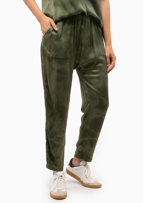 Sunday Pant TD | Army Cloudwash
