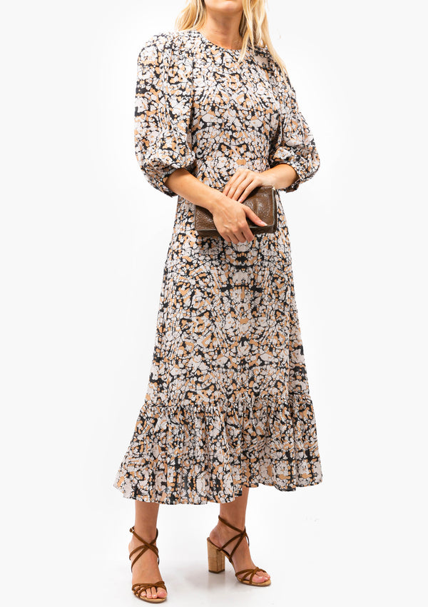Borealis Puffy Sleeve Dress