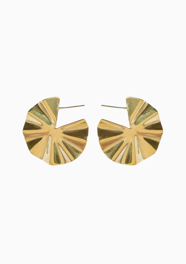 Bidu Circle Hoops, Brass