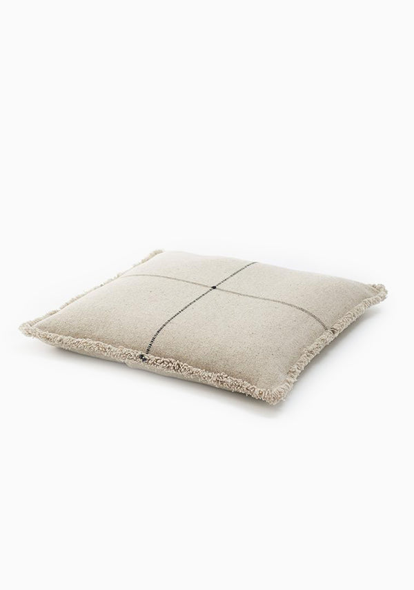 "Zabu Thor Floor Cushion, Black | 31.5"" x 31.5"""