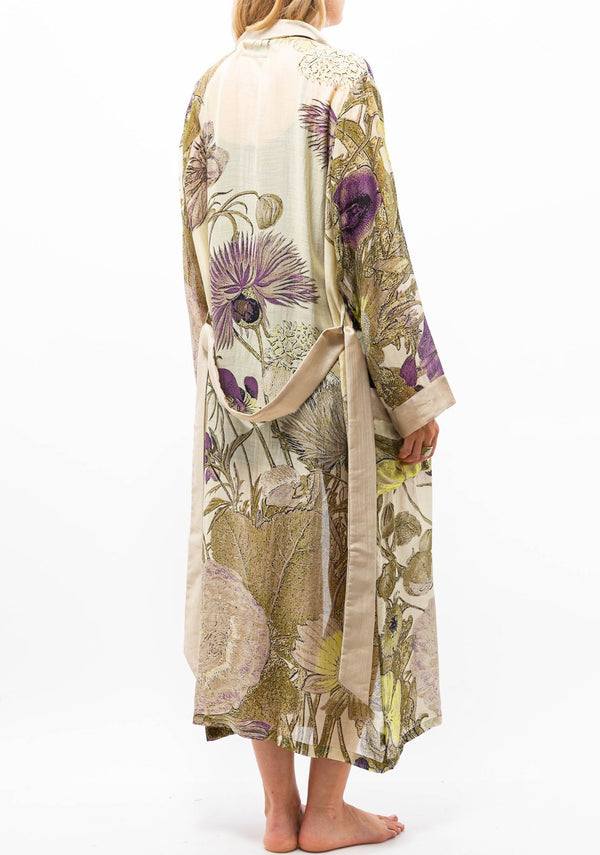 Thistle Robe Gown Purple