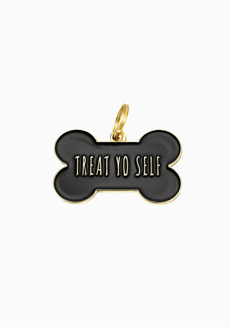 Treat Yo Self Dog Tag