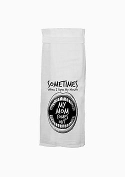 Tea Towel | Mom Mouth