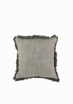 "Christo Pillow | Dark Grey | 19"" x 19"""