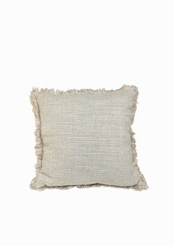 "Christo Pillow | White | 19"" x 19"""