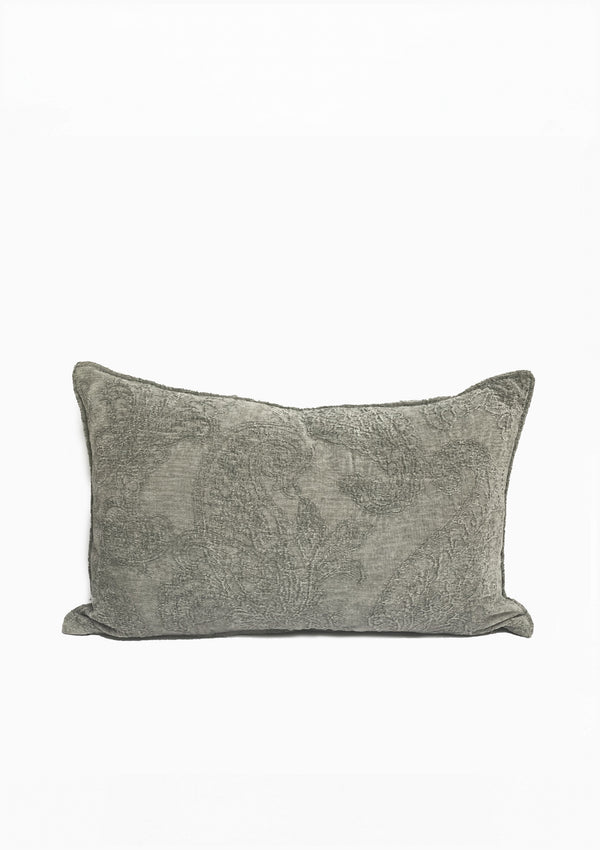 "Savery Pillow, Mink, 24""x 15"""