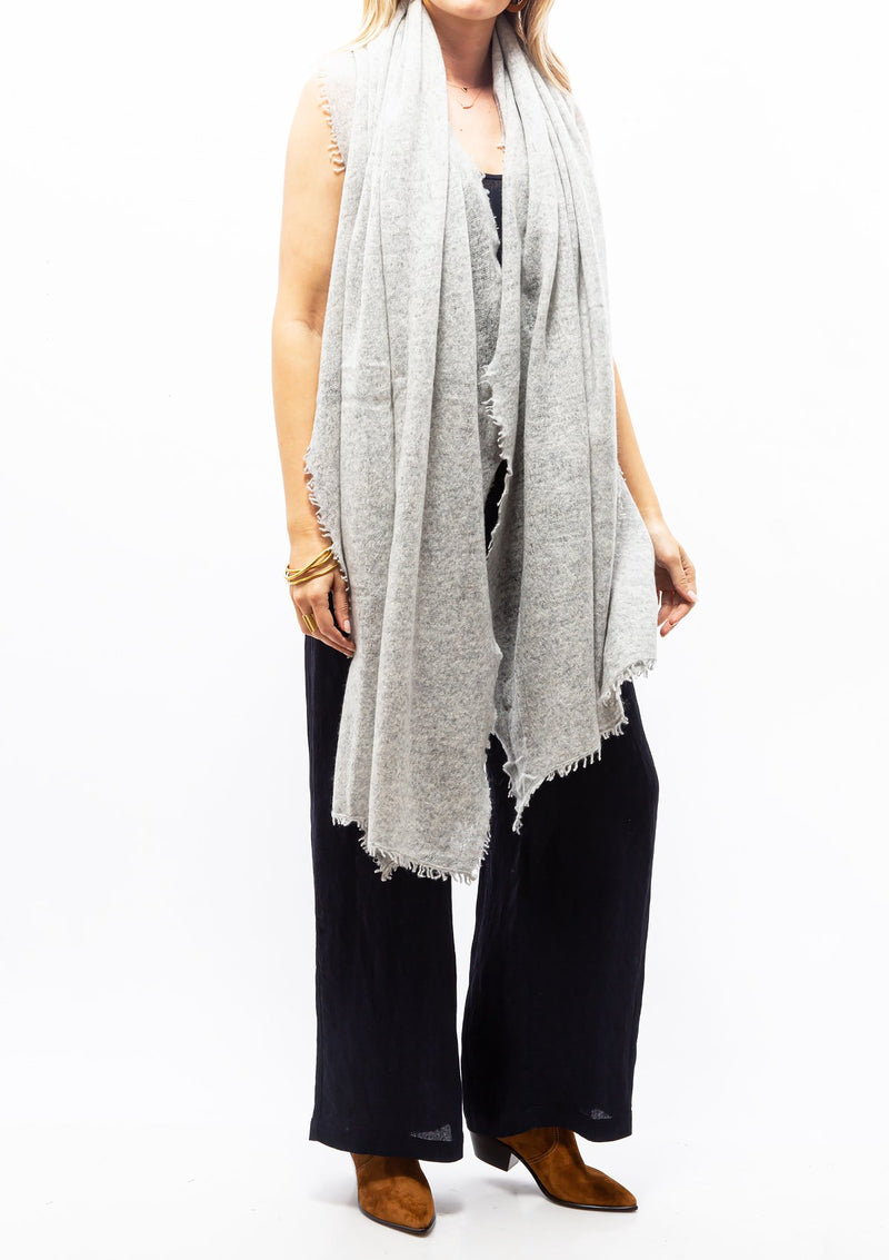 The Luxe Scarf | Grey