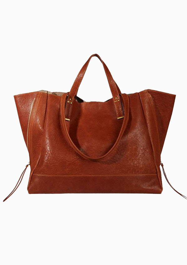 Georges L Handbag | Bubble Camel