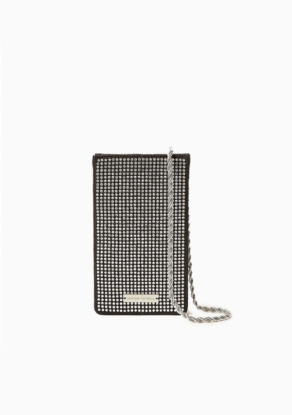 Augusta Chain Phone Crossbody | Diamante