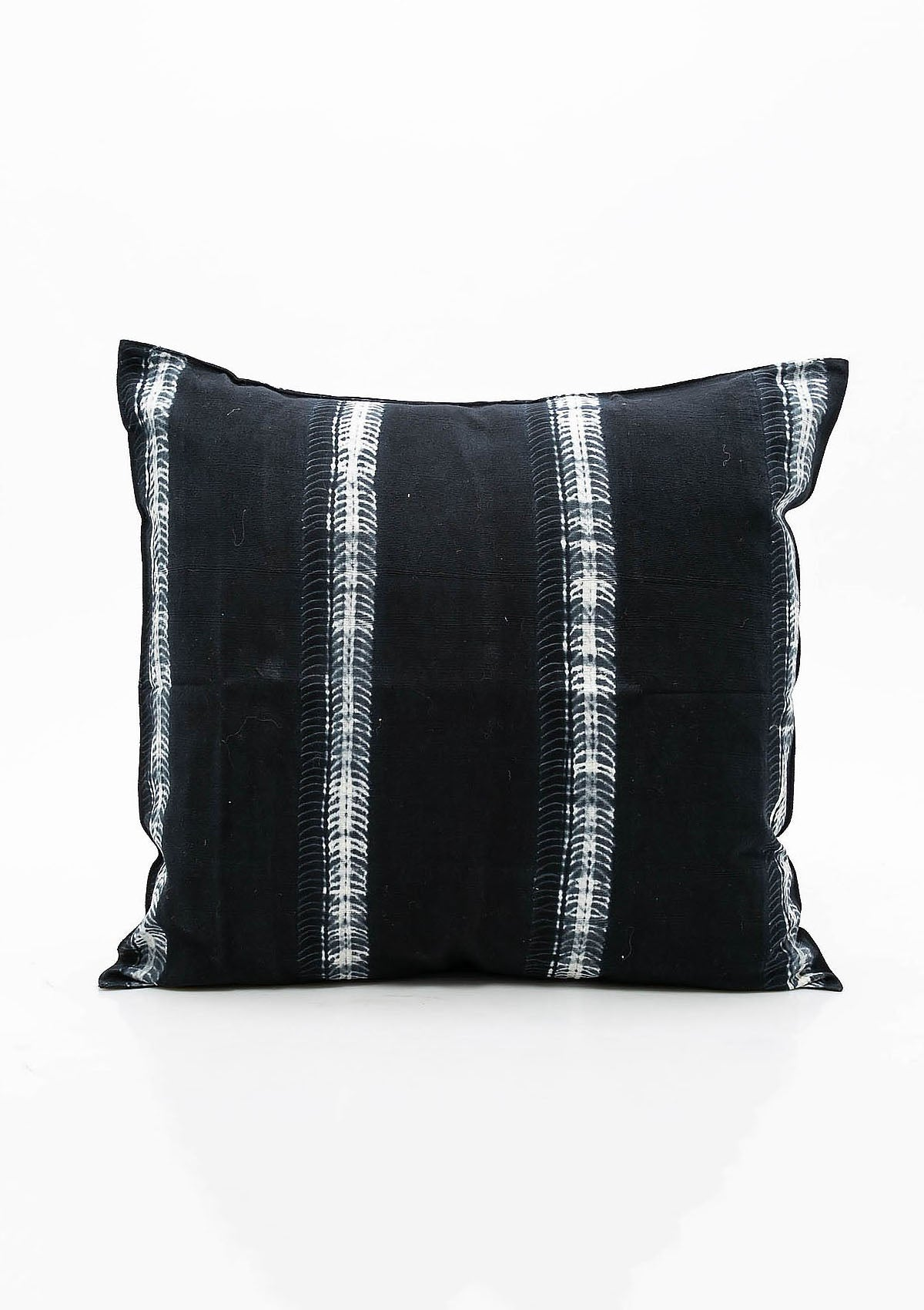 Cushion, Navy Batik, 20