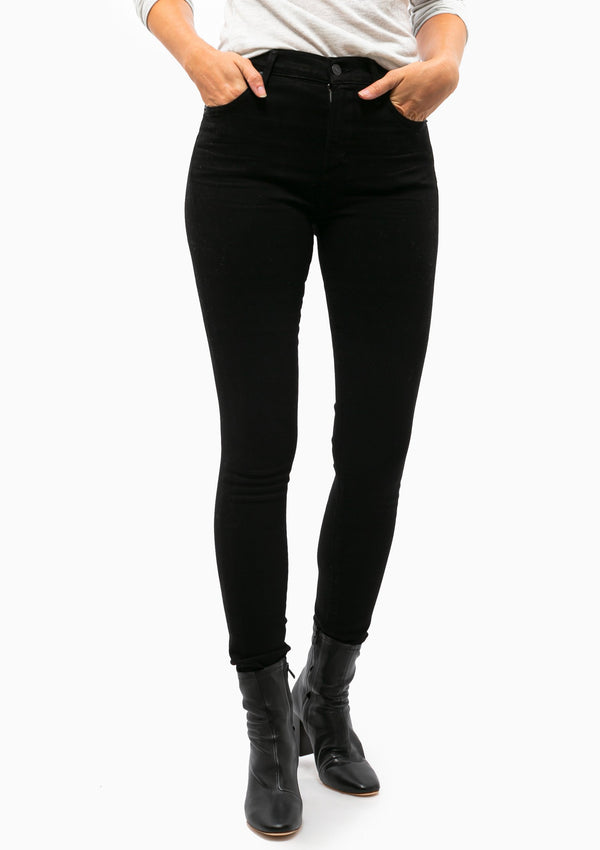 Rocket Mid Rise Skinny | Plush Black