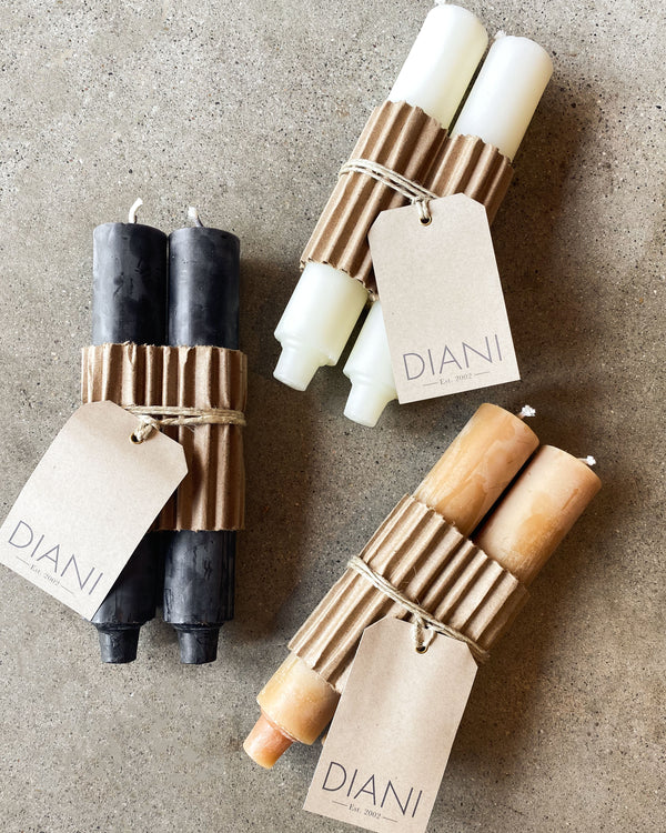 Column Candles | Black