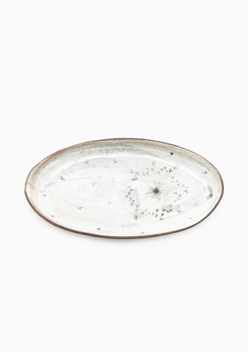 Medium Oval Tray Custom Dandelion 2