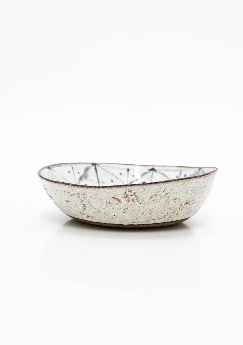Shallow Serving Bowl 9