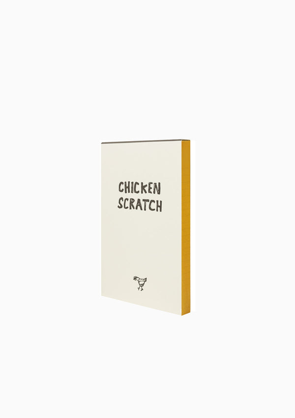 Chicken Scratch Notepad, 100 Sheets