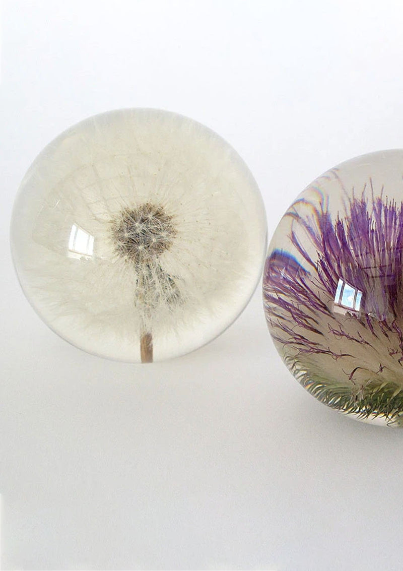 Open Thistle Large Paperweight
