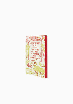 New Vegetables Notepad, 100 Sheets
